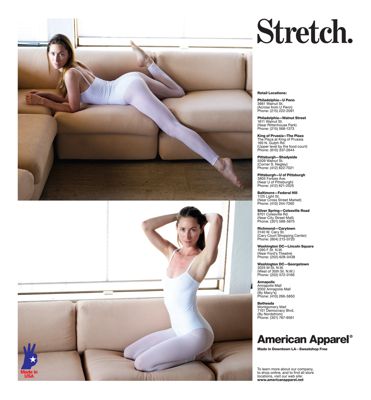 stretch escort video ads