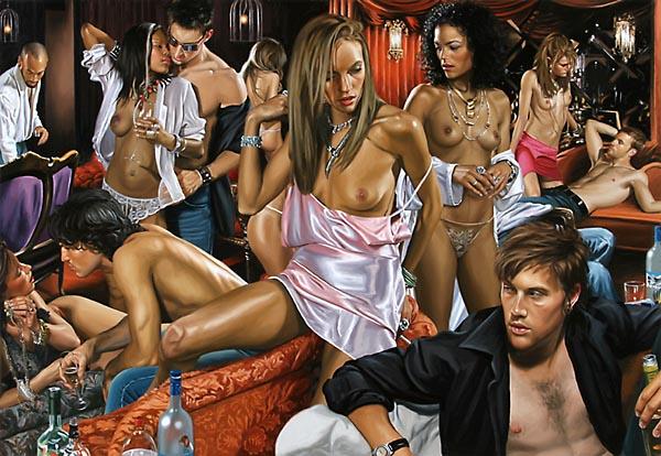 вечеринки сексуальные фото
